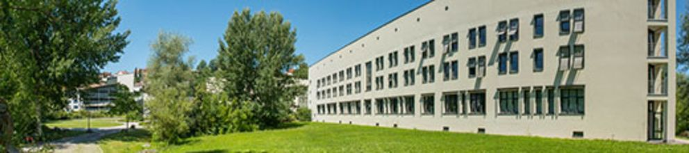 Panorama picture of the Computer Science and Mathematics building