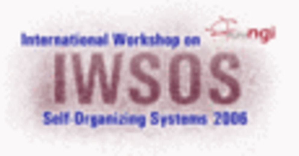 Logo International Workshop on Self-Organizing Systems (IWSOS)